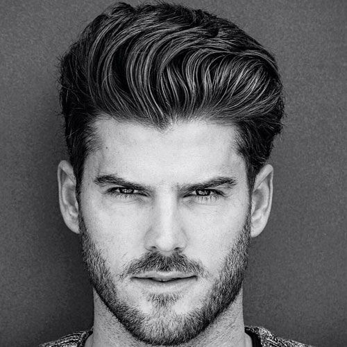 Professional Hairstyles For Men Professional Hairstyles For Men  Thick Quiff With Short Sides And