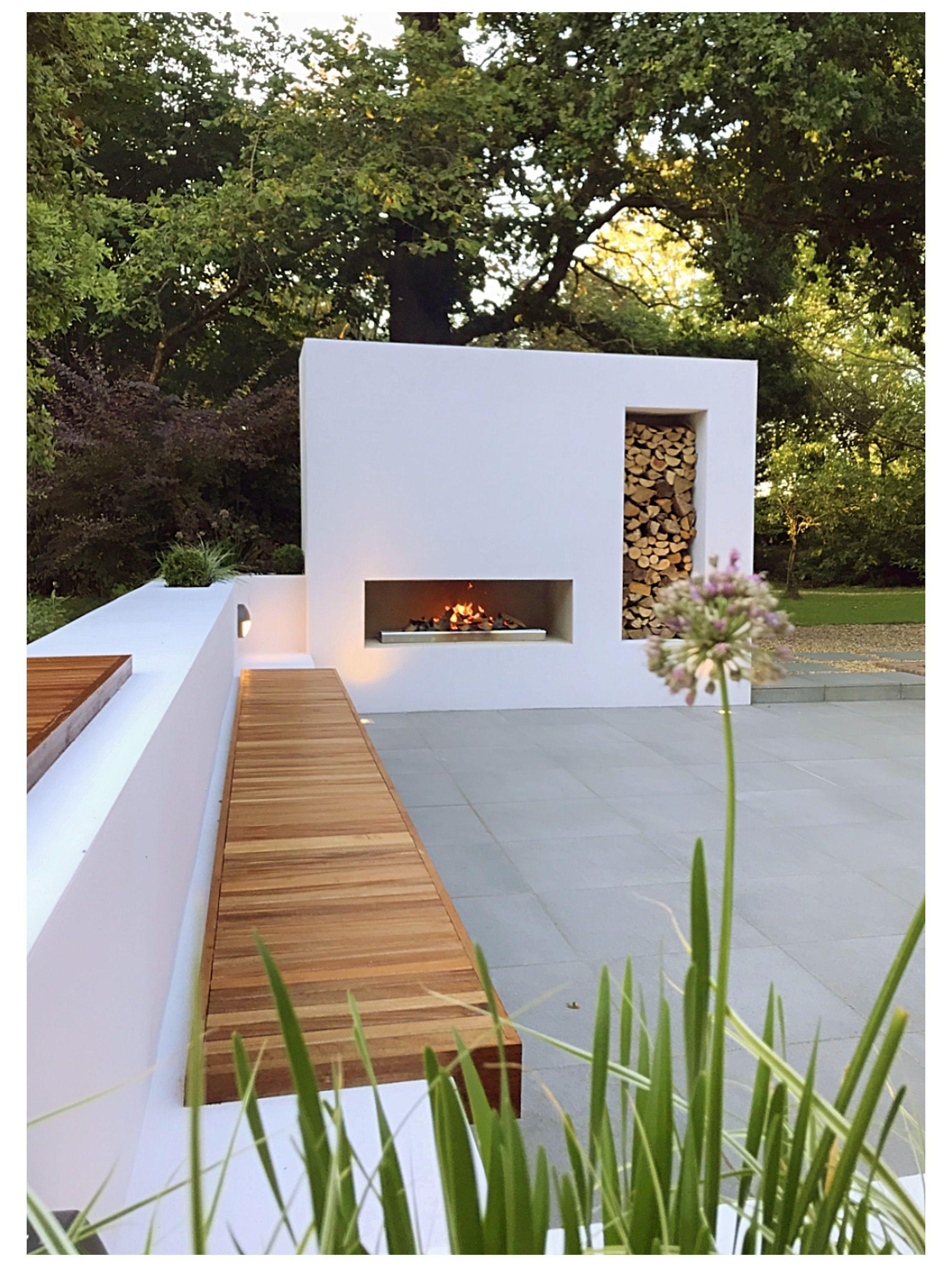 modern formal garden design