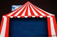 Como hacer un circo en diorama con cartulina & Como hacer un circo en diorama con cartulina | Tent craft ...