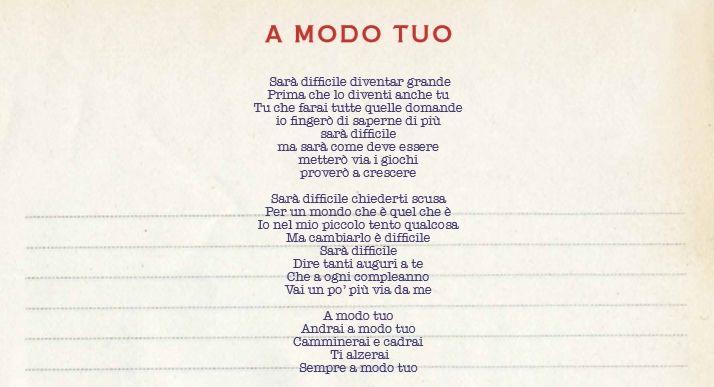"""Da oggi, venerdì 18 settembre, è in rotazione radiofonica """"A modo tuo"""", il nuovo singolo di Luciano estratto da """"Giro del mondo"""", l'album live (cd+dvd) con tutte le emozi"""