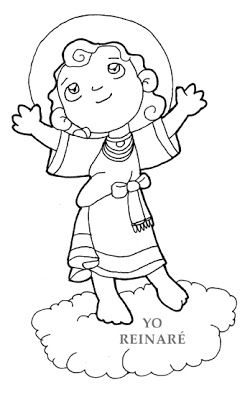 Dibujos para catequesis: DIVINO NIÑO JESÚS | Coloring Pages