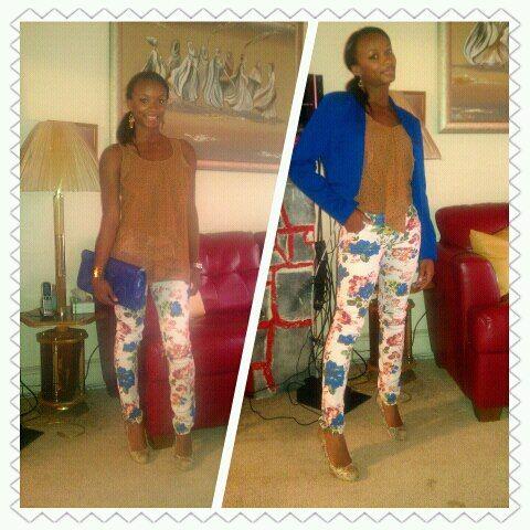 September 7 Blazer and Shirt: TJ Maxx Jeans: TJ Maxx Purse: Nine ...