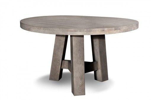 Eetkamertafel rondo een prachtige ronde houten tafel