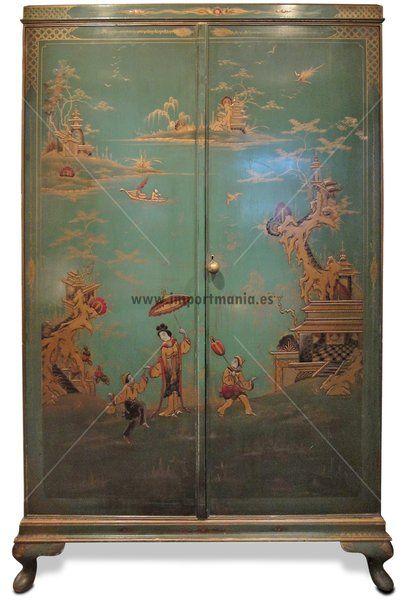 Muebles zapateros decorados muebles chinos muebles for Muebles orientales online