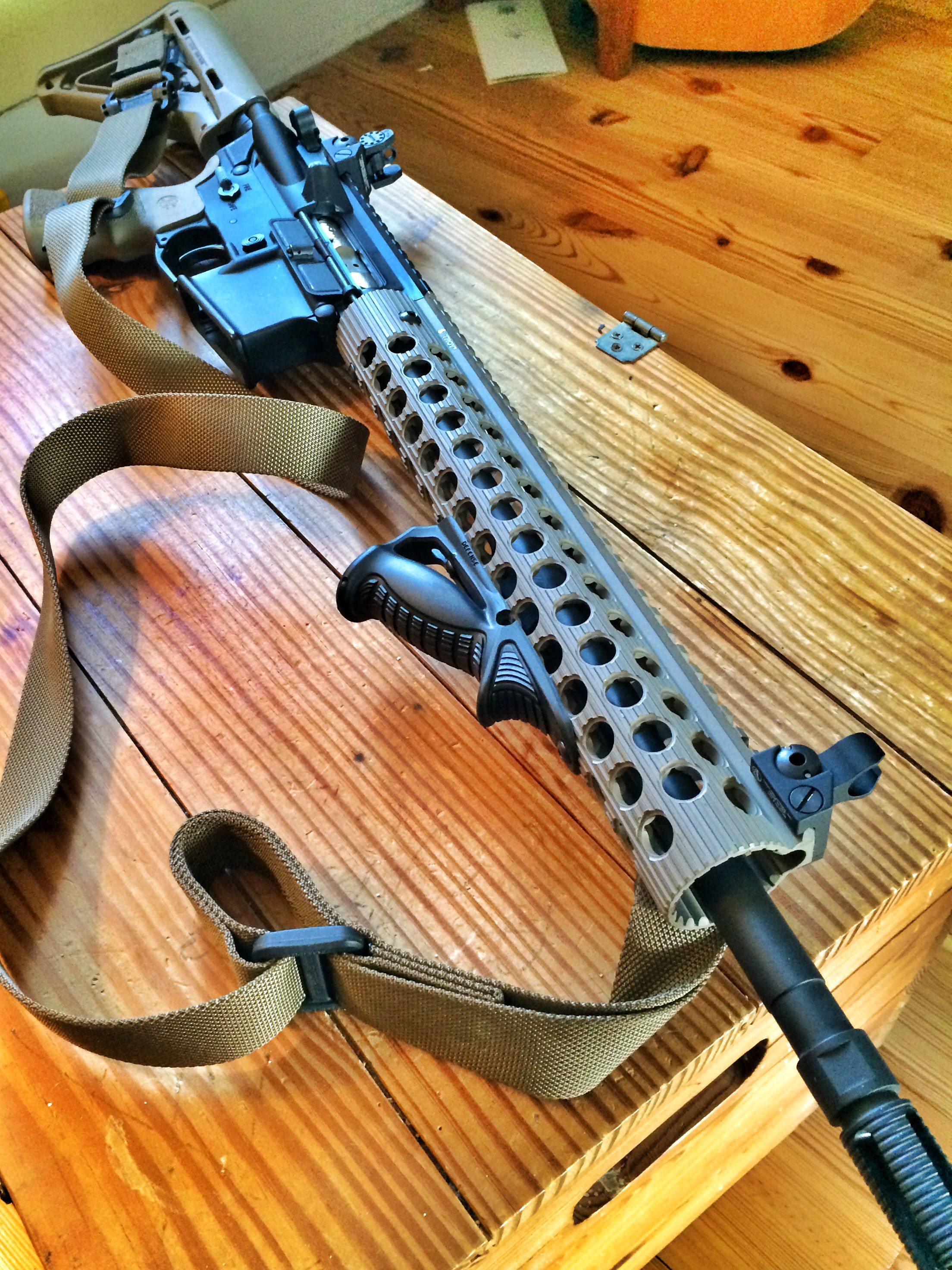First AR-15 Learning and having fun. #Safeside Tactical #magpul ...