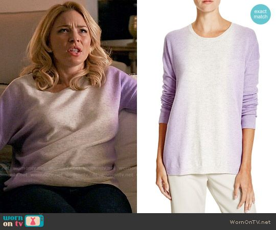 Kate's purple ombre sweater on Mistresses. Outfit Details ...