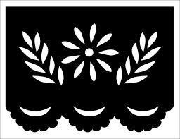 Resultado De Imagen Para Papel Picado Patterns Easy Hacer Sobres De Papel Papel Picado Mexicano Papel Picado
