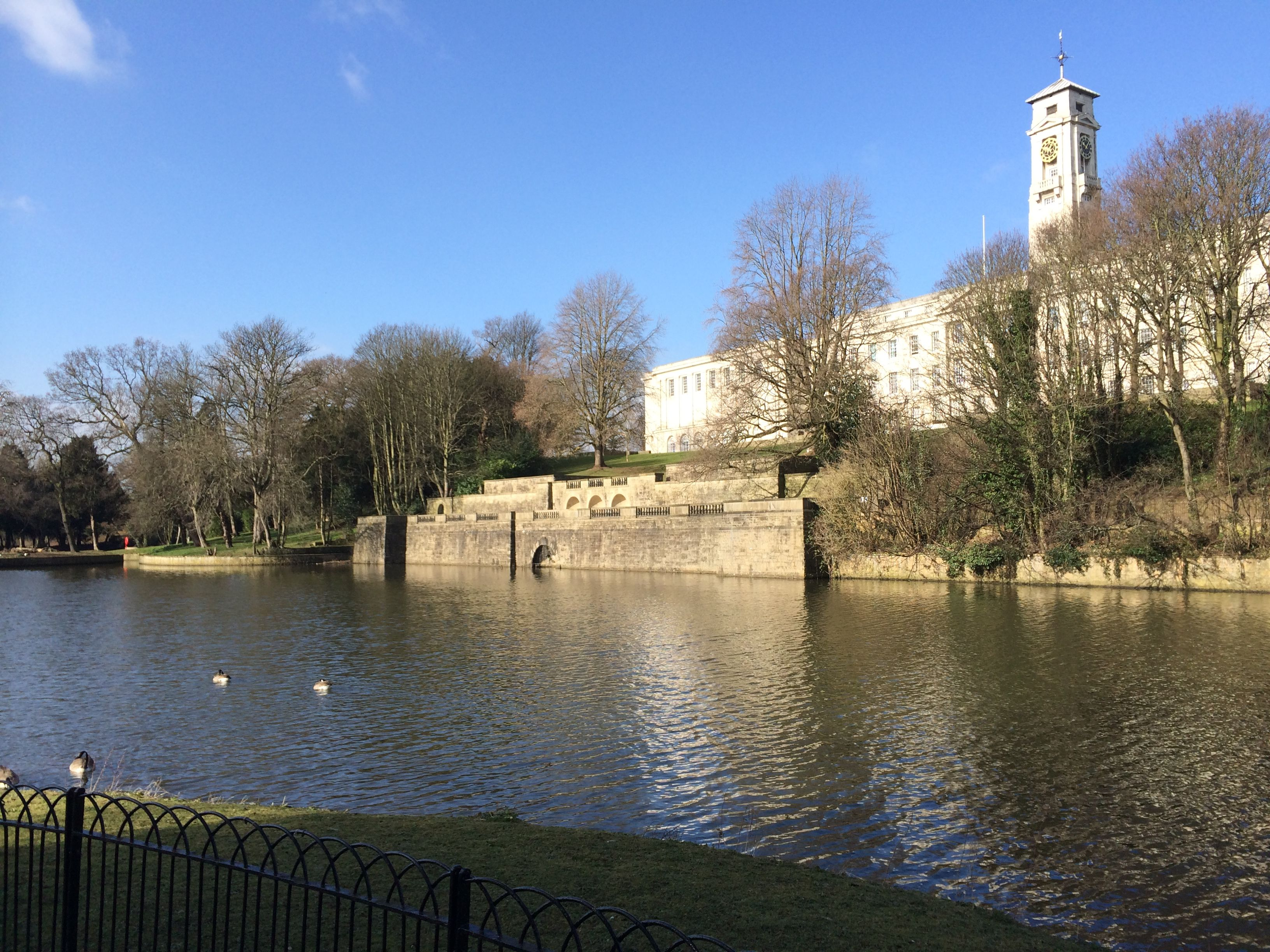 The Universityofnottingham S Iconic Trent Building In Highfields