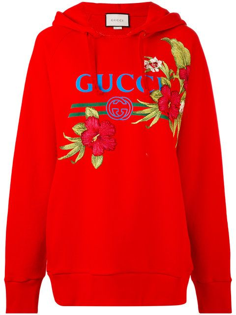 7e2974f58 GUCCI Floral Logo Hoodie. #gucci #cloth #hoodie | Gucci in 2019 ...