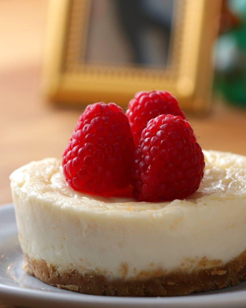5-Minute Microwave Cheesecake | Microwave dessert ...