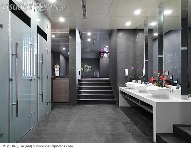 Public washroom designs on pinterest bath vanities for Washroom design images