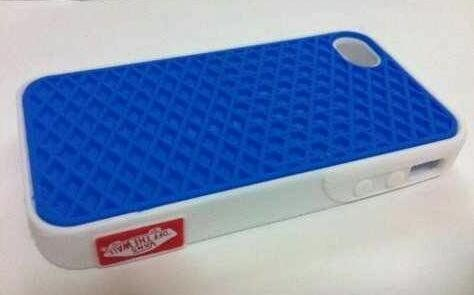 $7.99 - Vans OFF THE WALL Waffle Sole Skateboard Case Cover Skin iPhone 4 Blue 1 *USA SELLER*TRACKING NUMBER SENT SAME DAY ITEM SHIPS* by iPhone 4 Case, http://www.amazon.com/dp/B00999CAJM/ref=cm_sw_r_pi_dp_anruqb1MCSCNC