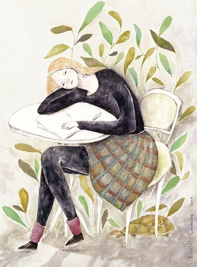 Krystel Cárdenas Ilustración