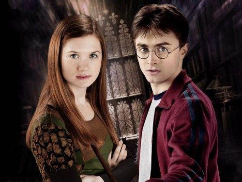 Harry And Ginny Photo Harry Ginny Harry And Ginny Harry Potter Ginny Harry Potter Ron Weasley