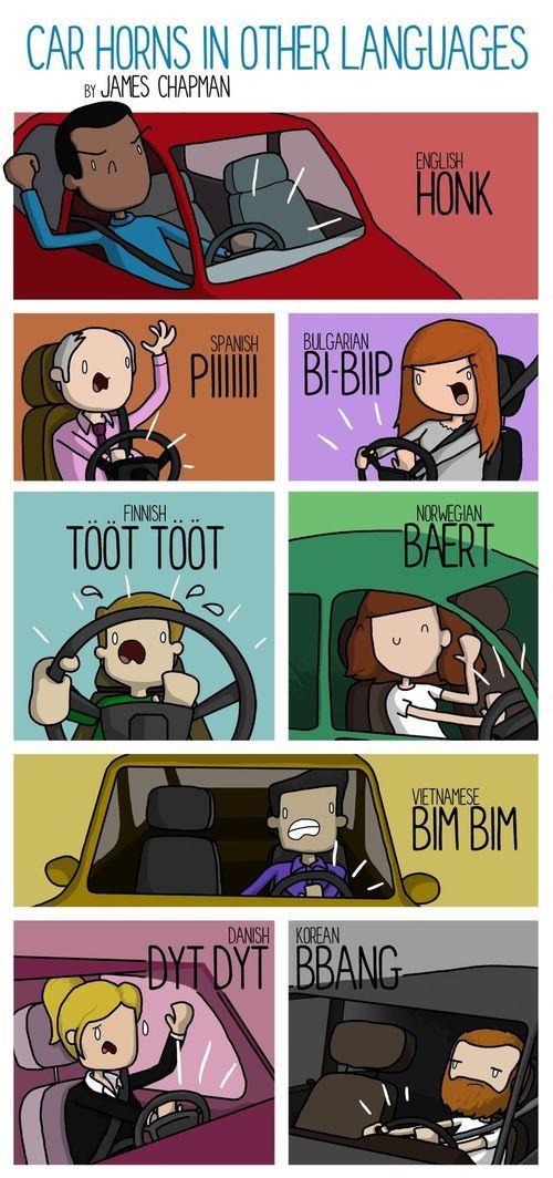 Beep Beep Honk Honk What Car Horns Sound Like Around The
