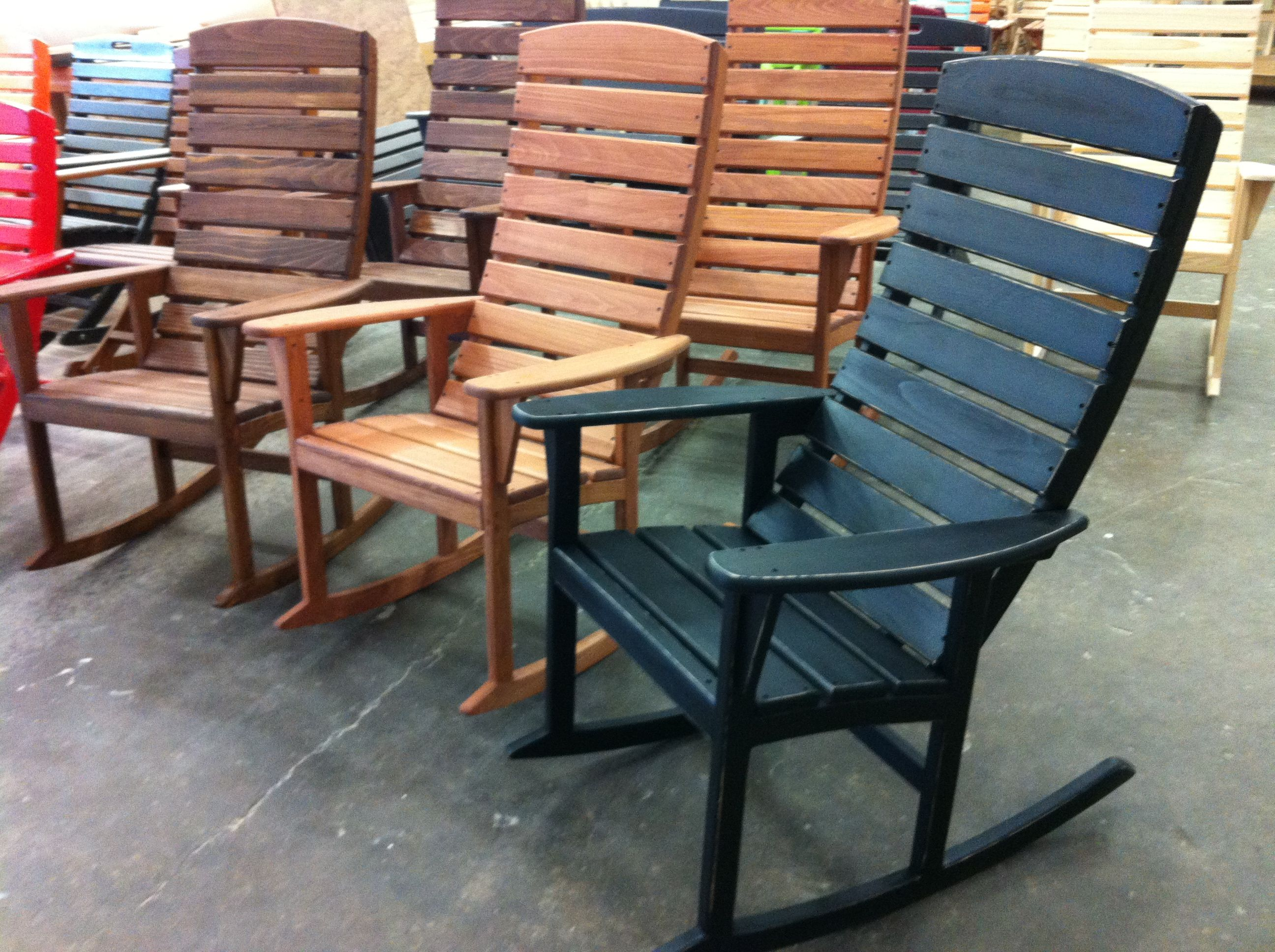 Outstanding Casual Rocker Hand Made In North Carolina Lilyjack Creations Camellatalisay Diy Chair Ideas Camellatalisaycom
