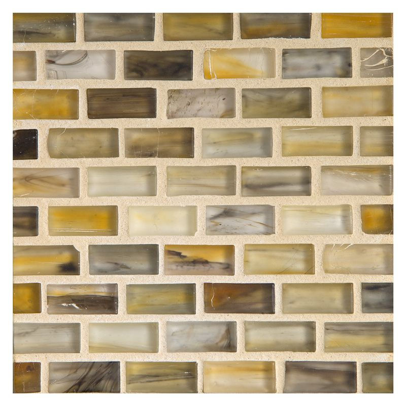 Complete Tile Collection Zumi Structured Gl Ton Silk Finish 1 2 X Mini Brick Mosaic Mi 038 G2 274 131 70 Recycled Content Ecofriendly