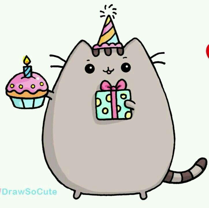 Прикольные доброе, как нарисовать открытка с днем рождения с котами