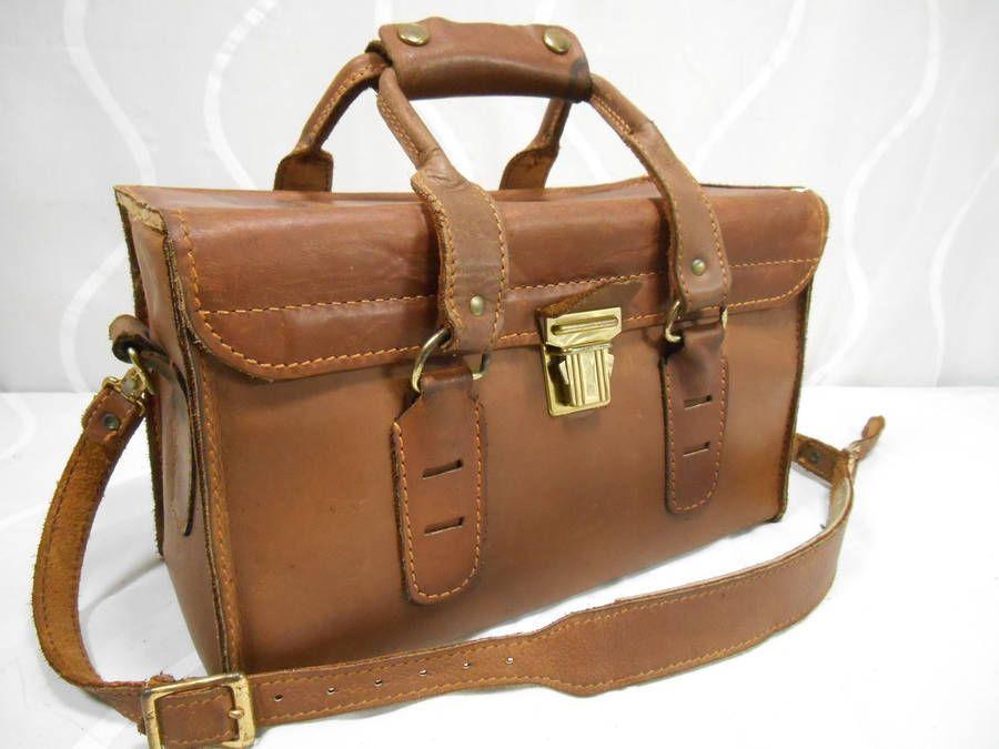 Vintage Coast Genuine Leather Camera Case Bag For Dslr Handcrafted Usa