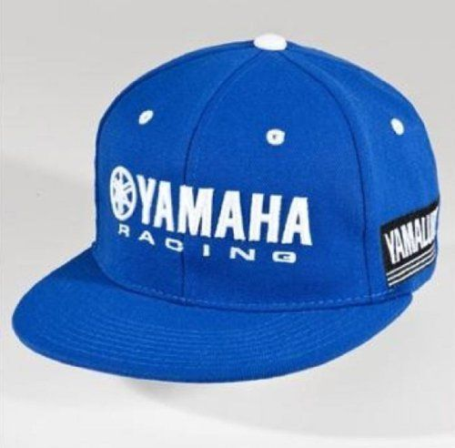 2846953cb19 Yamaha Blue Racing Team Hat Cap by Yamaha OEM. Blue. Fitted Styling.  CRP-12HYR-BL by Yamaha.  19.01. Yamaha Blue Racing Team Hat. 97% acrylic.  3% spandex.