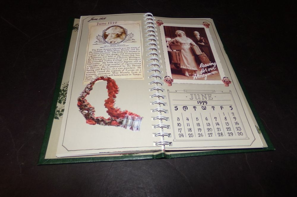1979 Calendar June.Vintage Virginia Slims Daily Calendar W Old Fashion Pictures