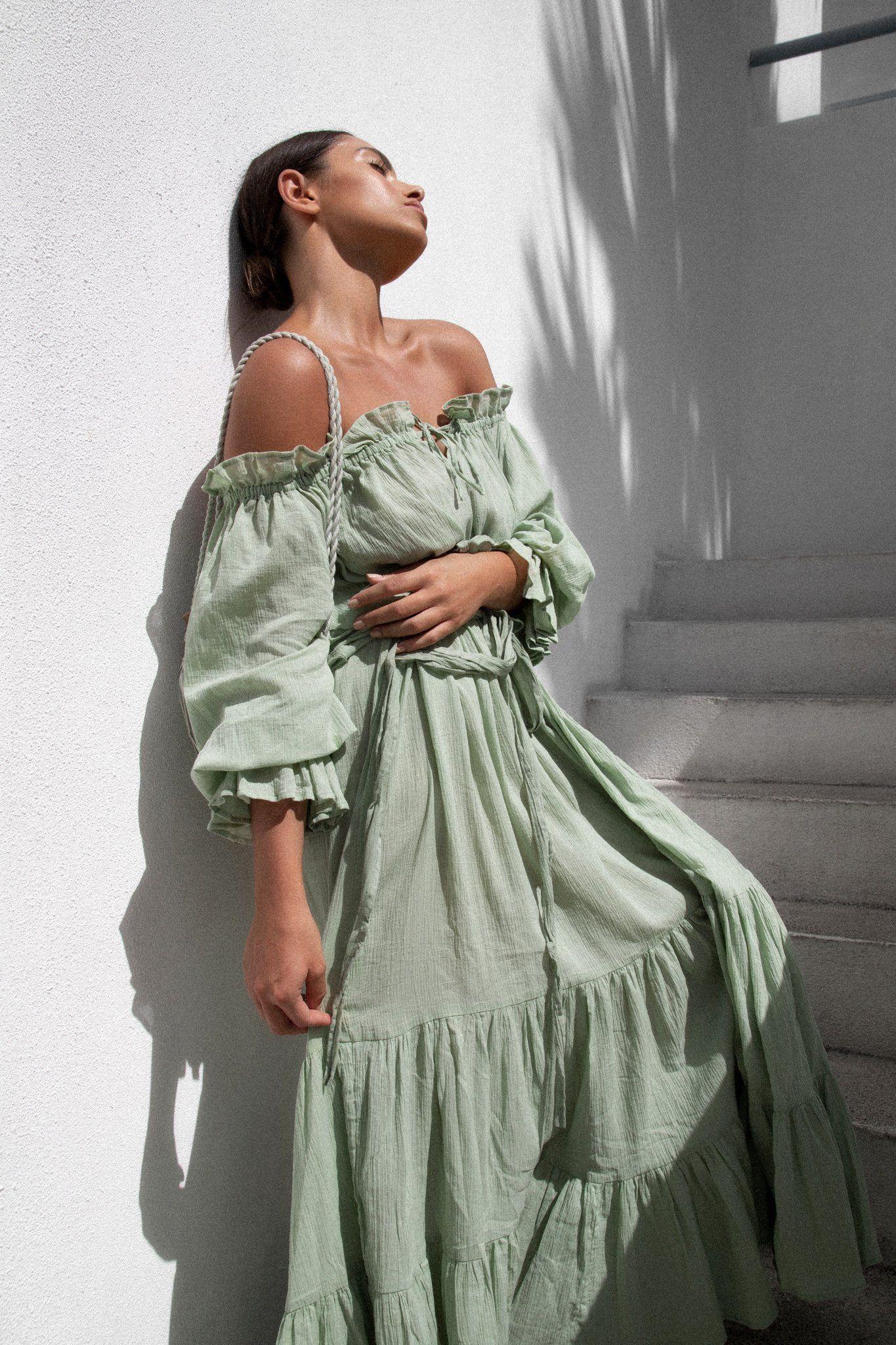The Emmaline Gown Sage Green Wedding Guest Dress Dresses Guest Dresses [ 2048 x 1365 Pixel ]