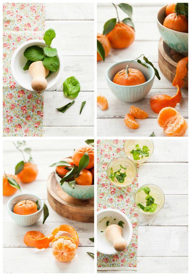 WINTER LEMONADE: Mandarin Mint | thekitchenmccabe.com