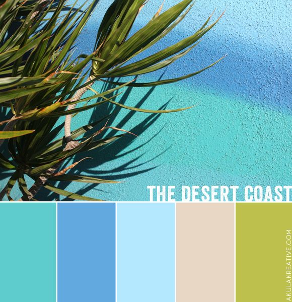 7 Soothing Color Palettes For Your Bedroom In 2019: A Desert-coast-inspired Color Palette // What's Inspiring
