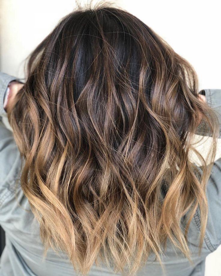 Balayage auf jungfräulichem Haar. Getönt von @hairbyheathern Verwendet alle Ti ...  - Hairideas -