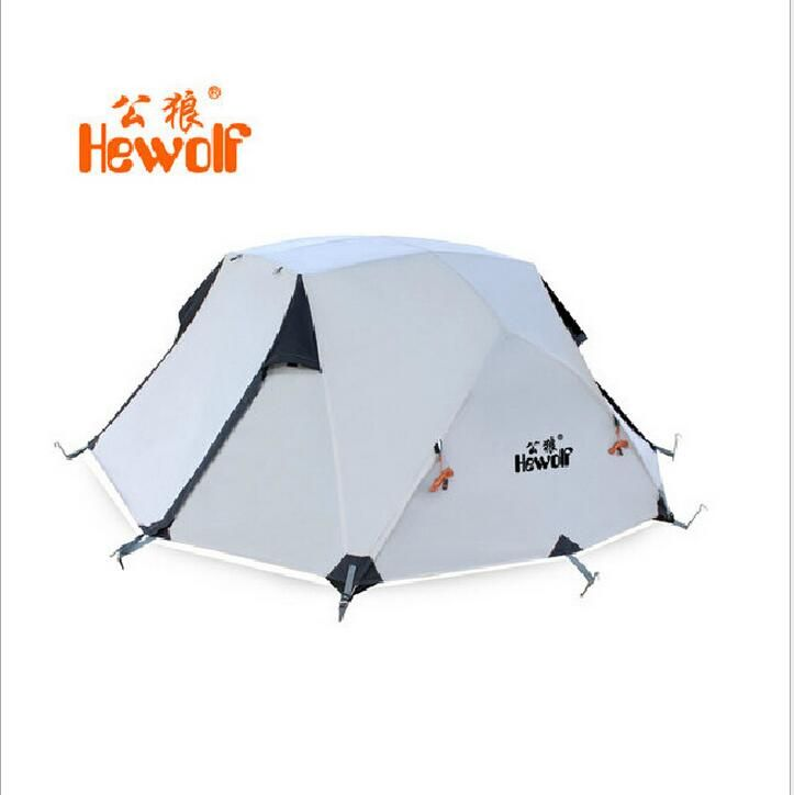 off the grid quotes Hewolf 2 person double layer tents outdoor Waterproof 4 seasons tent c&ing  sc 1 st  Pinterest & off the grid quotes Hewolf 2 person double layer tents outdoor ...