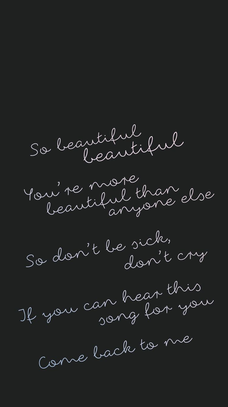 Beautiful By Monsta X It S An Amazing Song All Of They Re Songs