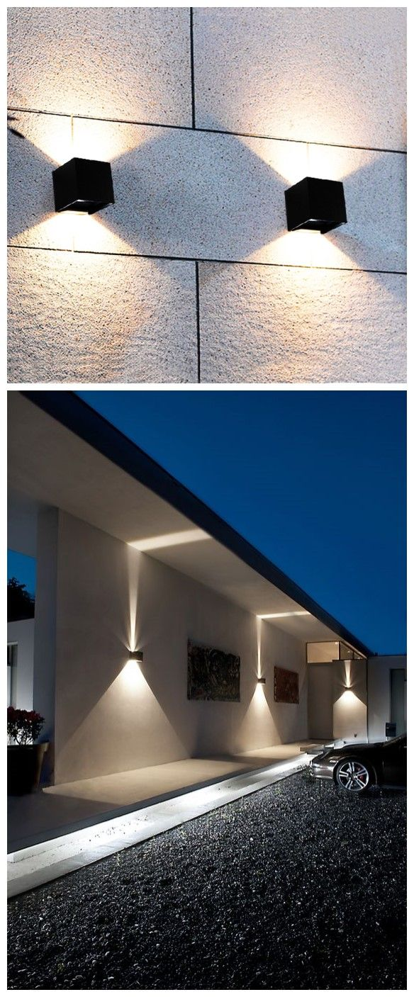 waterproof ip65 wall pack led wall light wall mount up and down