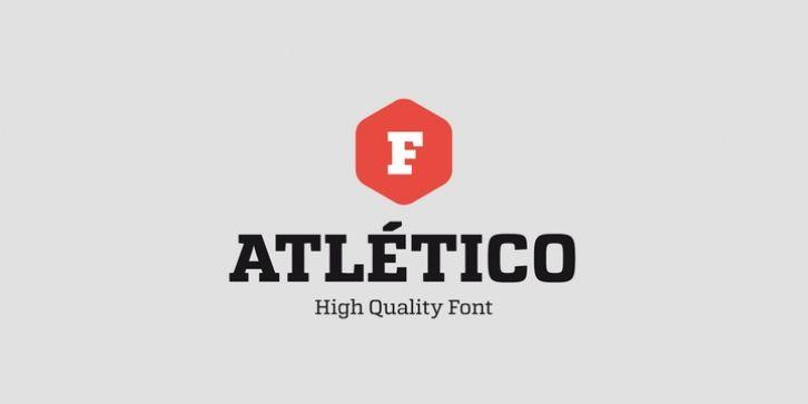 Atletico font download