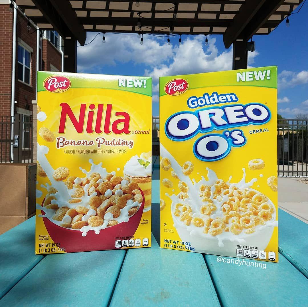New Nilla Banana Pudding And Golden Oreo O's Cereals Will