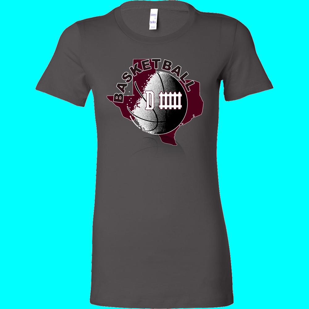 Texas A&M Basketball Defense Women's T-Shirt Slim Fit