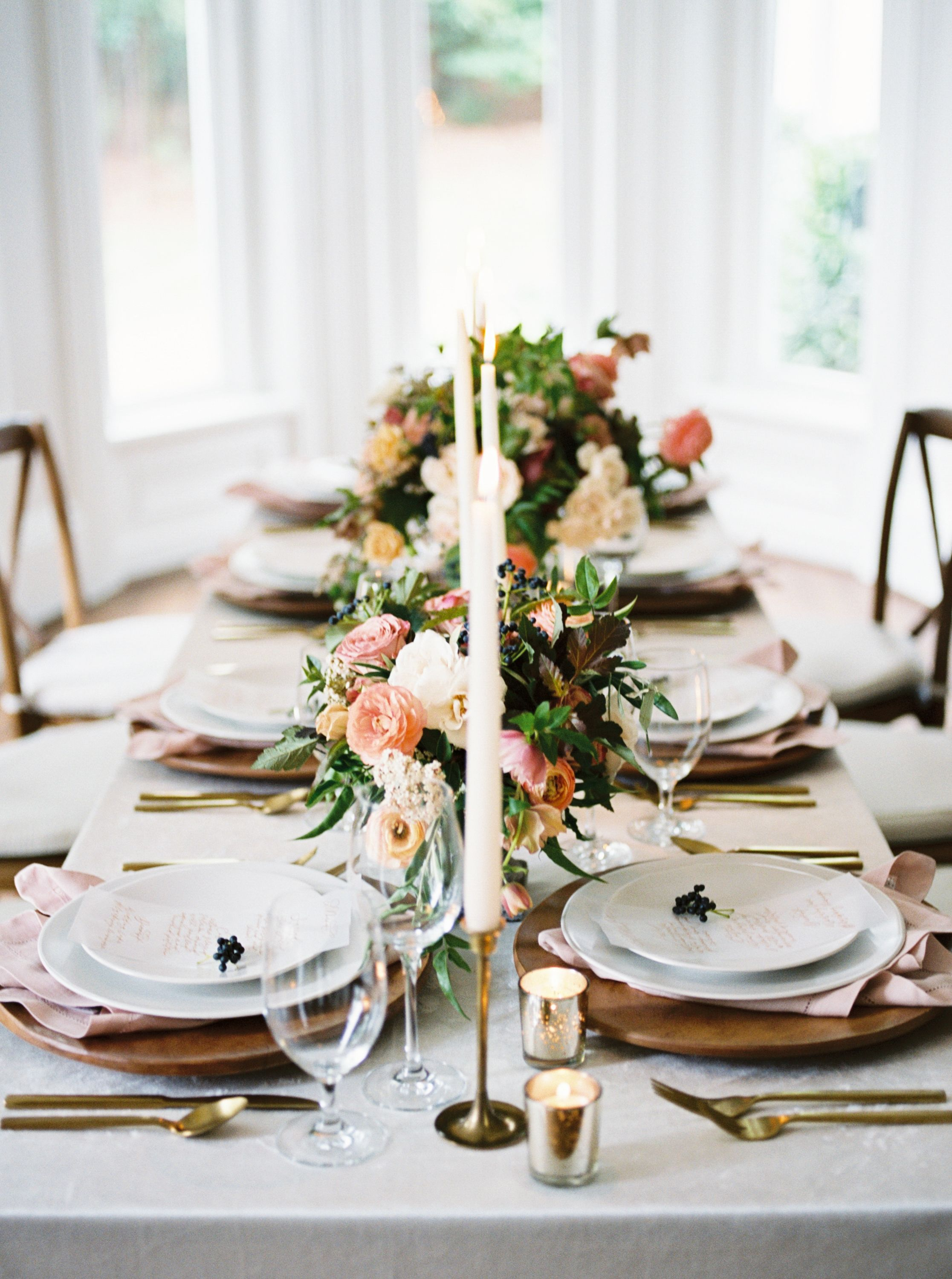 berry + pink southern wedding inspiration at mcalister