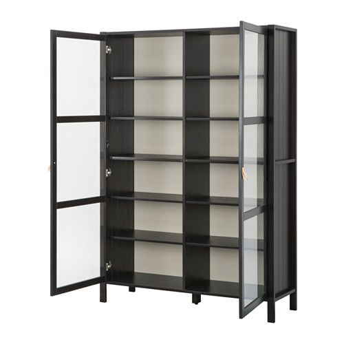 Prime Bjorksnas Glass Door Cabinet With 2 Doors Ikea Solid Wood Is Download Free Architecture Designs Scobabritishbridgeorg