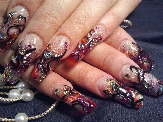 Exotic Nail Art New Designs At Letting Go Pinterest Exotic Nails