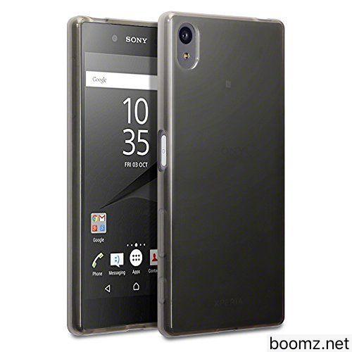 Xperia Z5 Case Terrapin Slim Fit Xperia Z5 Cover Smoke Black Premium Protective Tpu Gel Case For Sony Xperia Z5 Smoke B Locker Storage Cover Sony Xperia