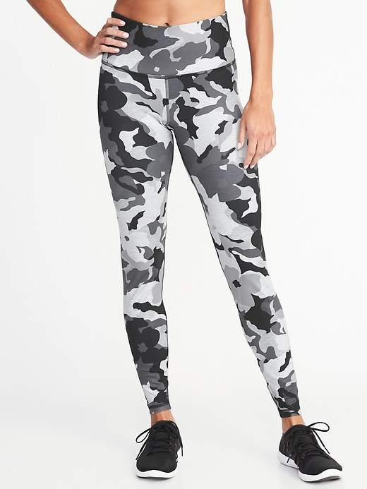 5476606804b015 High-Rise Printed Elevate Compression Leggings for Women | Products ...