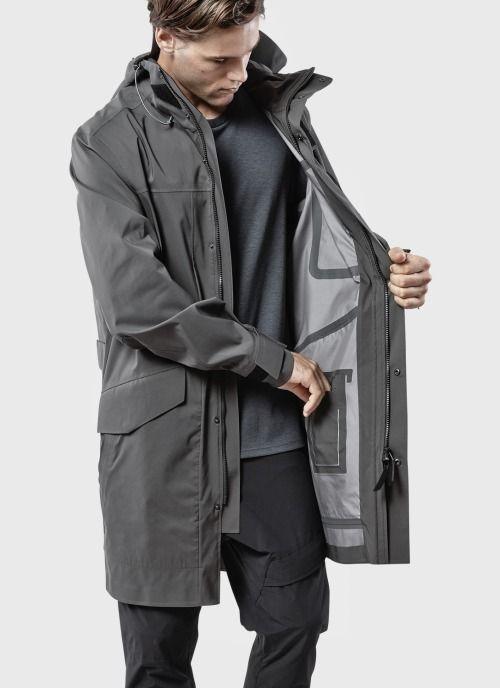 Kaléidoscope | Mens raincoat, Cyberpunk fashion, Jackets