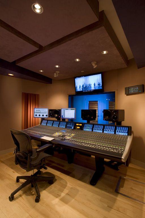 Music Studio Room Design: Great City Productions