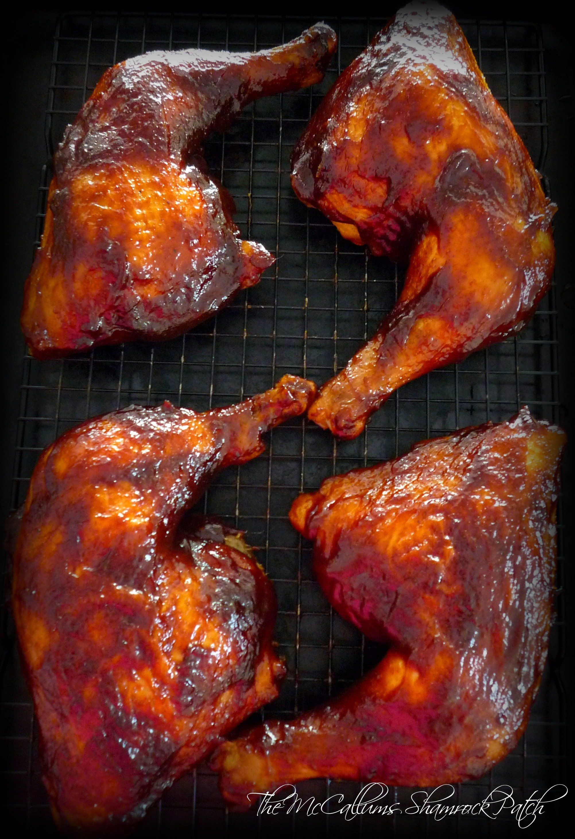 Simple Bbq D Chicken Leg Quarters Recipe Food Recipes Yummy