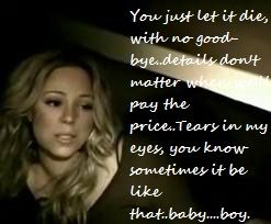 Don\'t Forget about us lyrics. I love this song!! | Mariah ...