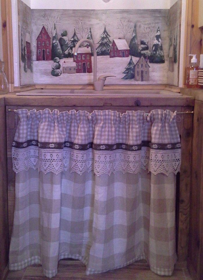 Qui da la bora moena ti proponiamo una vasta scelta di tende per decorare con stile ogni ambiente. 10 Idee Su Tende Montagna Tende Tende Per Finestra Tende Country