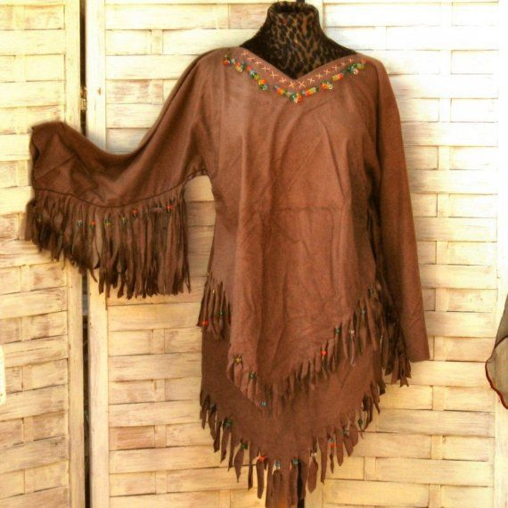 DIY Indian Costume for Women | Native American Indian Girl Costume DIY