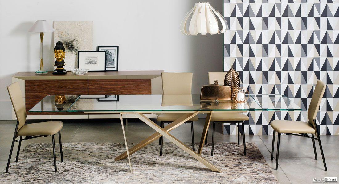 Table Extensible Verre Et Metal Magasin De Meubles Home Decor Diy Decor Decor Diy