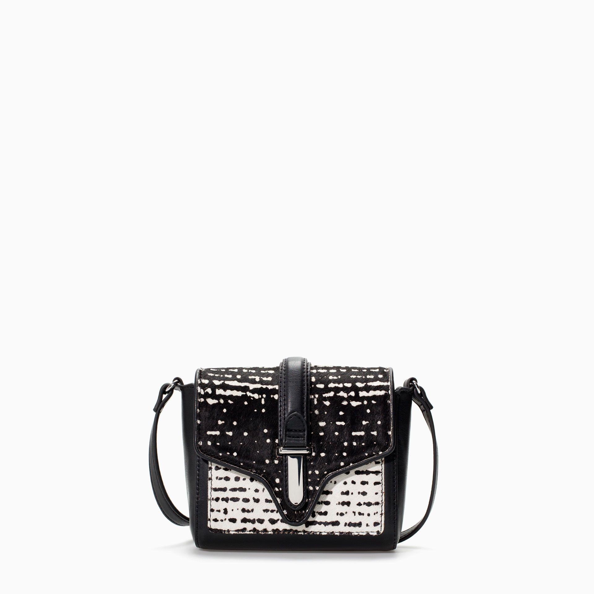 Zara Printed Messenger Bag - ZARA - COLECCIÓN AW14 - BANDOLERA PRINT - bolso