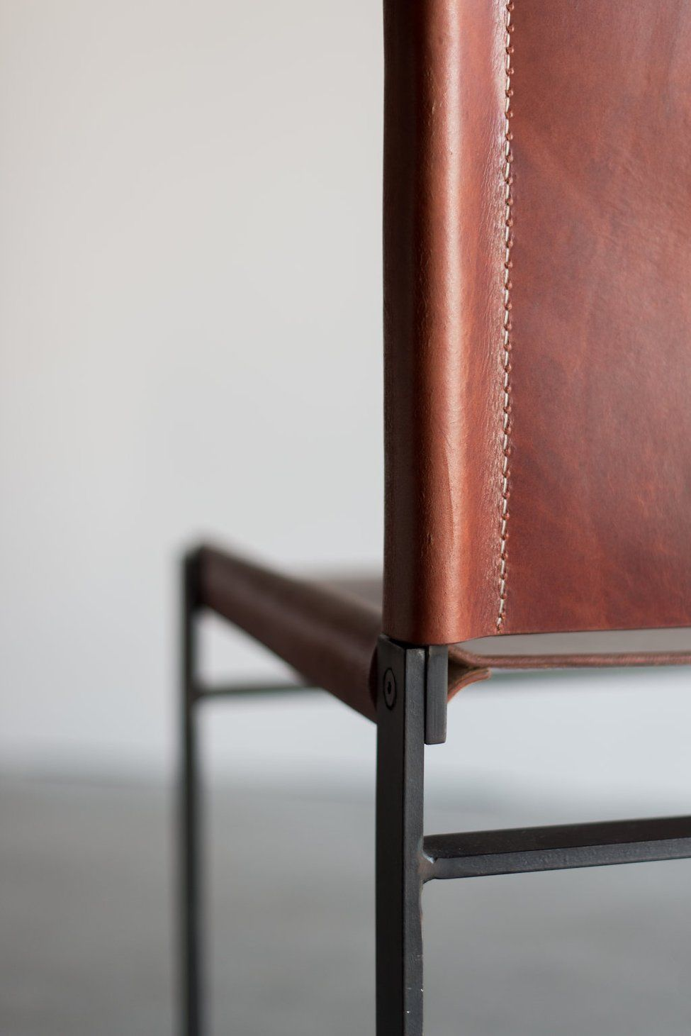 Latigo Dining Chair In 2020 Steel Dining Chair Chair Small Leather Chairs #small #leather #chairs #for #living #room