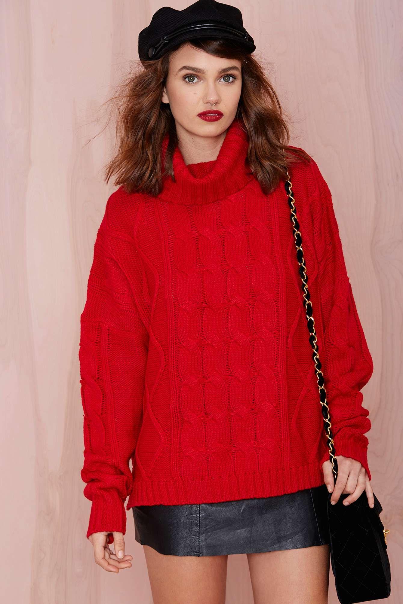 Celia Cable Sweater